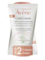 Avène Eau Thermale Cold Cream Duo Crème Mains 2x50ml à LE-TOUVET