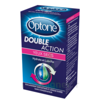 Optone Double Action Solution Oculaire Yeux Secs Fl/10ml à LE-TOUVET