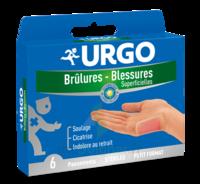 Urgo Brulures-blessures Petit Format X 6 à LE-TOUVET