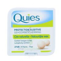 Quies Protection Auditive Cire Naturelle 8 Paires à LE-TOUVET