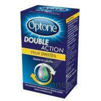 Optone Double Action Solution Oculaire Yeux Irrités Fl/10ml à LE-TOUVET