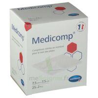Medicomp® Compresses En Nontissé 7,5 X 7,5 Cm - Pochette De 2 - Boîte De 25 à LE-TOUVET