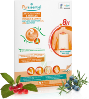 Puressentiel Articulations & Muscles Emplâtre Chauffant Xxl Articulations & Muscles Aux 14 Huiles Essentielles - 1 Patch