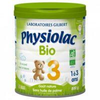 Physiolac Lait Bio 3eme Age 900g à LE-TOUVET