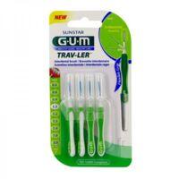 Gum Trav - Ler, 1,1 Mm, Manche Vert , Blister 4 à LE-TOUVET
