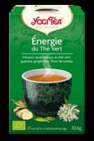 Yogi Tea Thé énergie Du Thé Vert Bio 17 Sachets à LE-TOUVET
