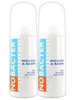 Nobacter Mousse à Raser Peau Sensible 2*150ml à LE-TOUVET