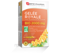 Forte Pharma Gelée Royale Bio 2000 Mg Solution Buvable 20 Ampoules/15ml à LE-TOUVET