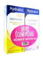 Hydralin Quotidien Gel Lavant Usage Intime 200ml+gyn 200ml à LE-TOUVET