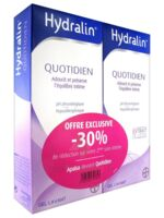 Hydralin Quotidien Gel Lavant Usage Intime 2*200ml à LE-TOUVET