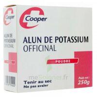 Cooper Alun Potassium Poudre B/250g à LE-TOUVET