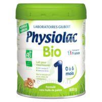 Physiolac Bio 1 Lait En Poudre B/800g à LE-TOUVET